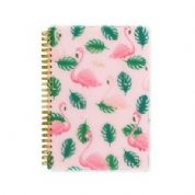 Reach Stationery Go Notebook  A5 Flamingo